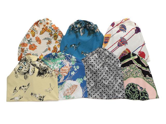 <manipuri (マニプリ)>から、ヴィンテージのスカーフプリントを用いたバッグが登場_1_2
