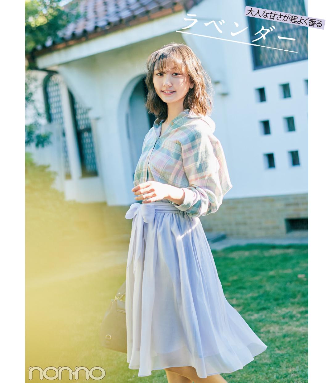 春一番に買うのはコレ! きれい色スカート2018♡ 最新コーデ4選!_1_1-2