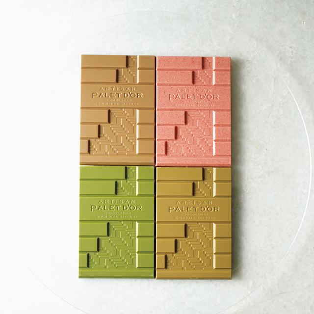〝はんなりカラー〞が美しい 日本が誇るホワイトチョコレート