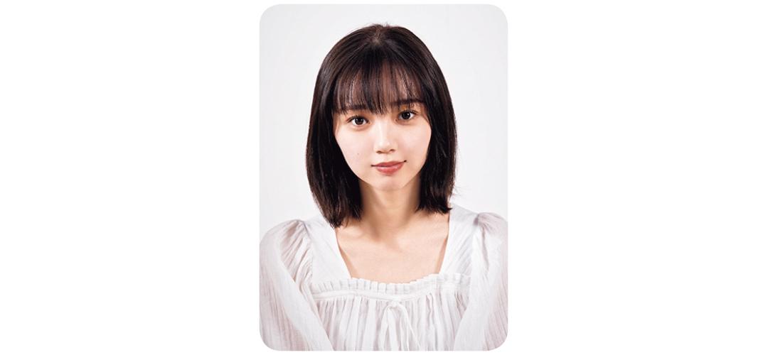 ヘアアレンジ前の江野沢愛美