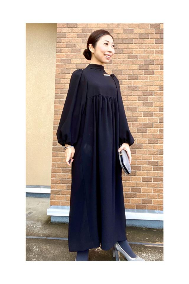 40代、初心にかえってリトルブラックドレスを更新しました。_1_6