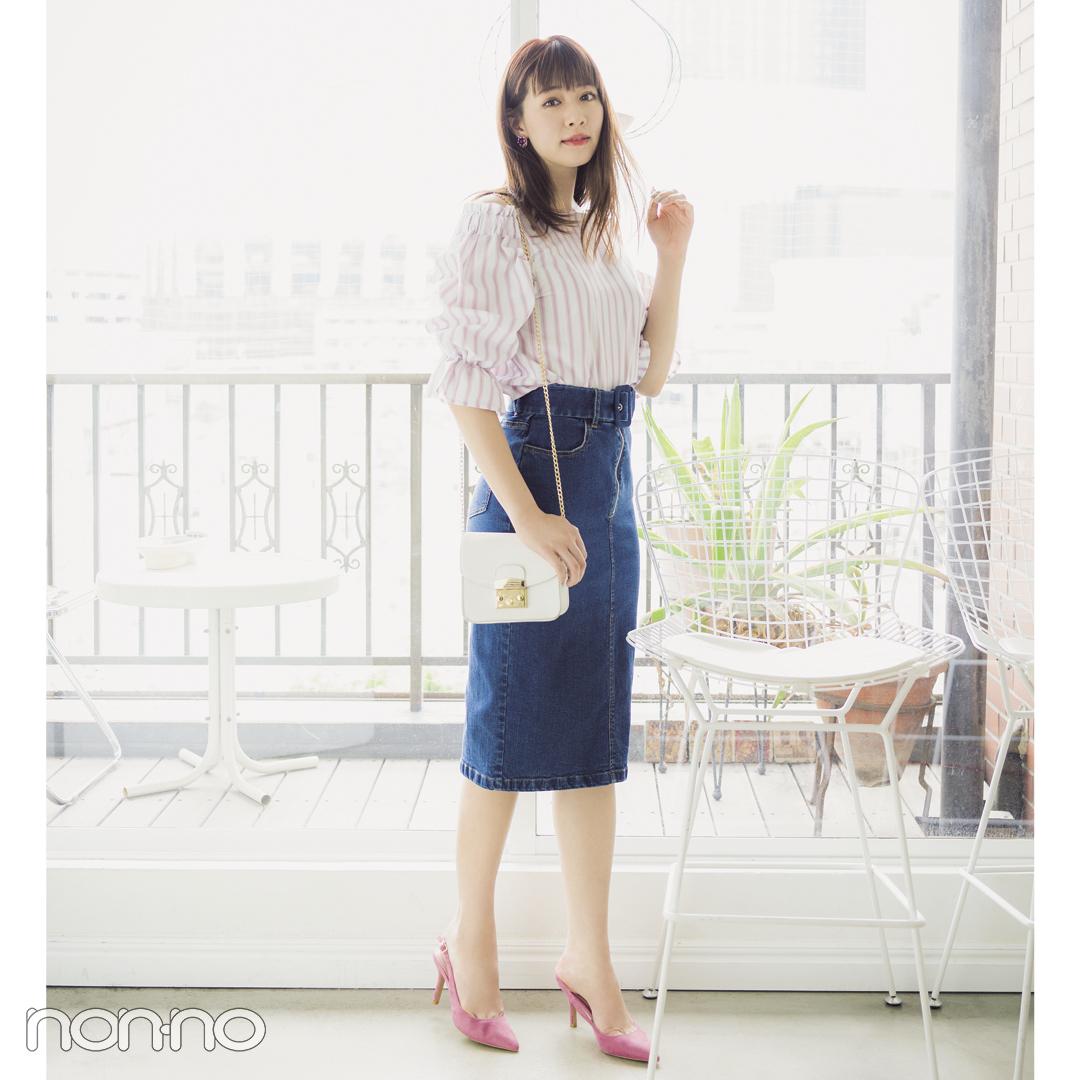 夏こそカジュアルなのに女っぽ♡ デニムスカートの正解コーデ3 ...