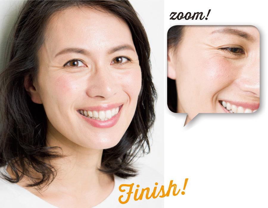 濃いシミ、淡いシミ。顔に点在する濃さの違うシミをメイクで隠す方法_1_3-5