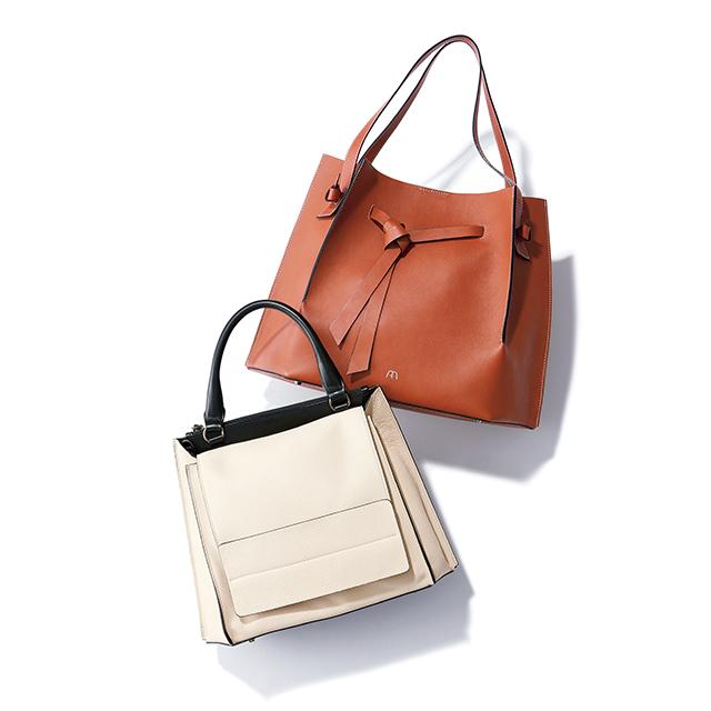 「アフラ」の新作バッグに注目