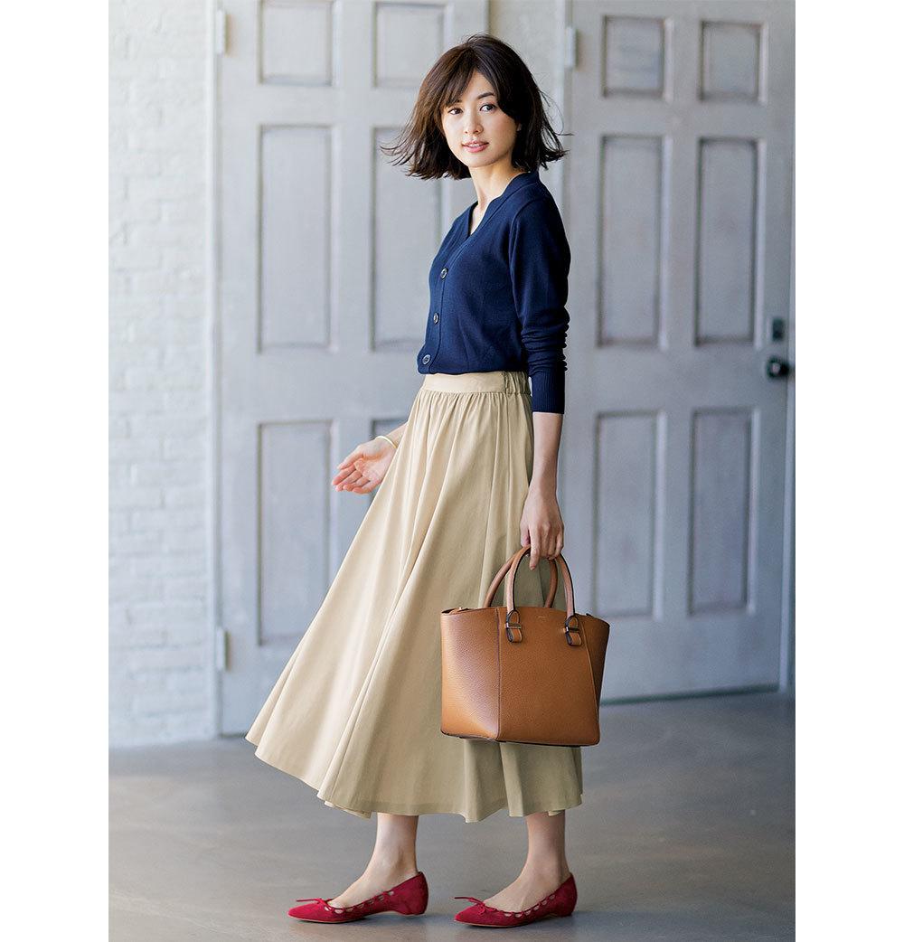 春こそ満喫!アラフォー向け着映えスカート6タイプ|40代レディースファッション_1_51