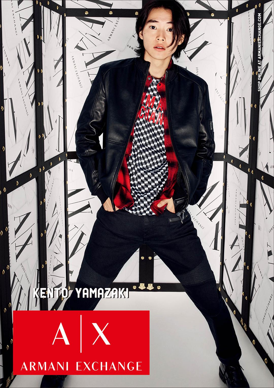 山﨑賢人さんのムービーも!A|Xアルマーニ エクスチェンジの秋冬広告キャンペーンが世界同時公開!_1_1
