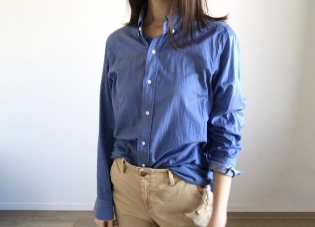 春本番 こなれたシャツの着方をご紹介【40代 私のクローゼット】_1_4-3