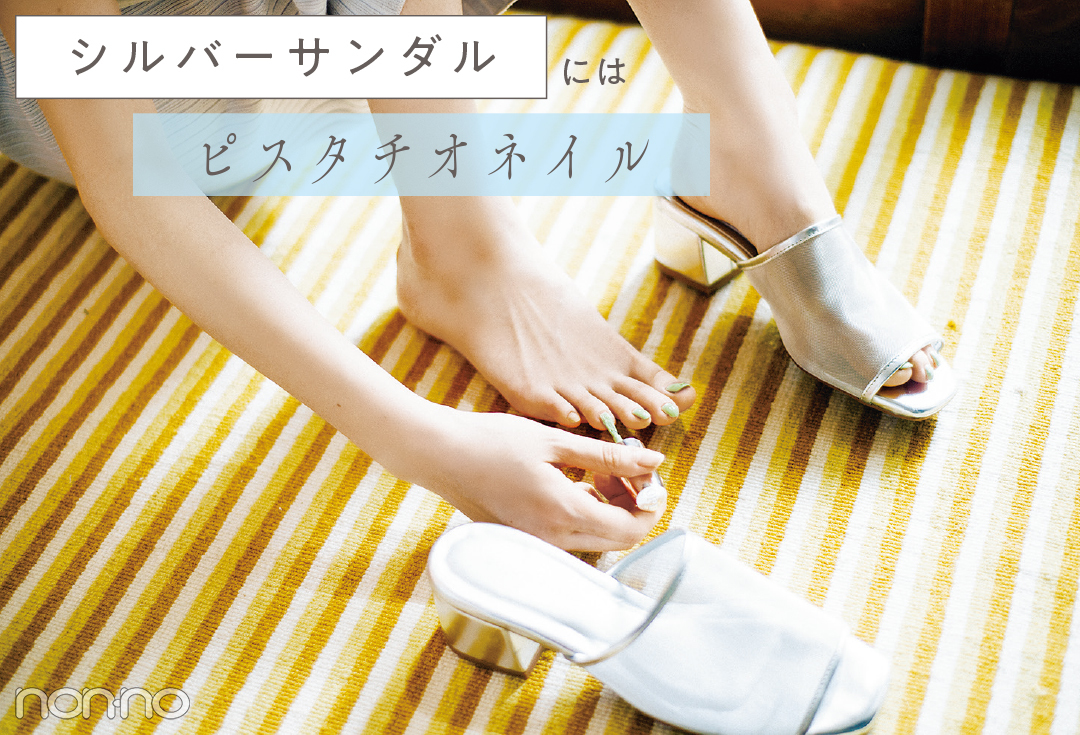 【ネイル2019夏】サンダル映えするペディキュア7選!_1_13