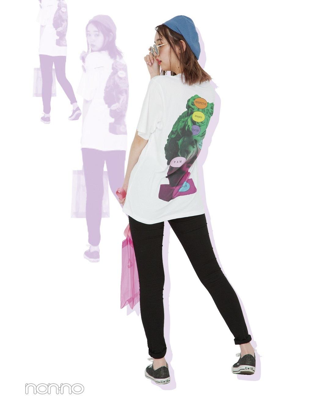 【夏のTシャツコーデ】メンズミックスはメリハリを大事に!江野沢愛美の韓国ファッションコーデ