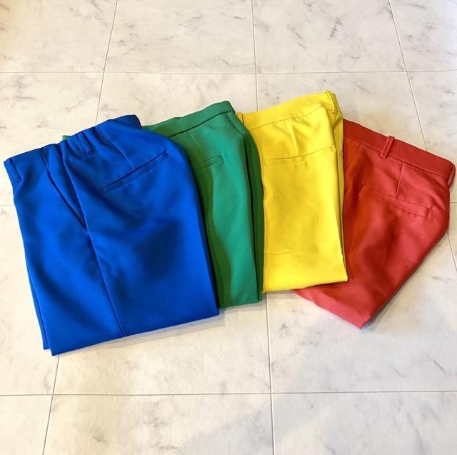 「鮮やかカラーパンツ」を投入!買うなら、どの色??_1_1