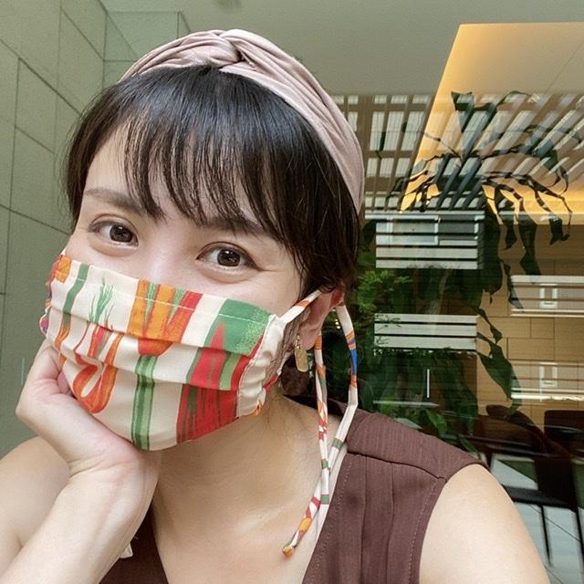 manipuriのマスクで華やかに❗️_1_2