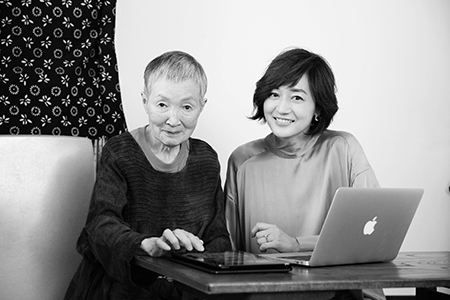 これからの人生のためのエールを!富岡佳子が会いに行く 82歳のアプリ開発者 若宮正子さん_1_1