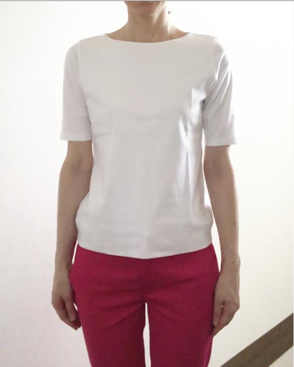 ホントに透けない?話題の「ドゥクラッセTシャツ」試してみました!_1_2-1