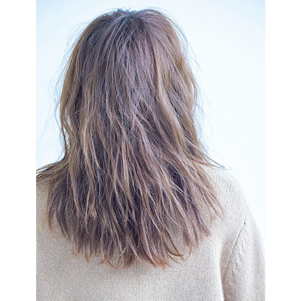 横から見た 人気ヘアスタイル6位の髪型