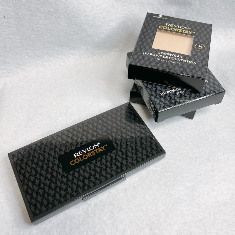 レブロンのカラーステイロングウェアUVパウダーファンデーションはシミを素早く隠せるカバー色が優秀