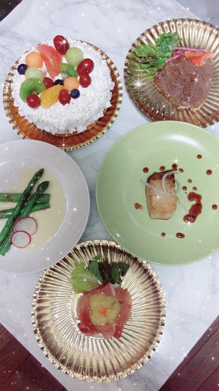 手作り贅沢ディナー☆_1_1
