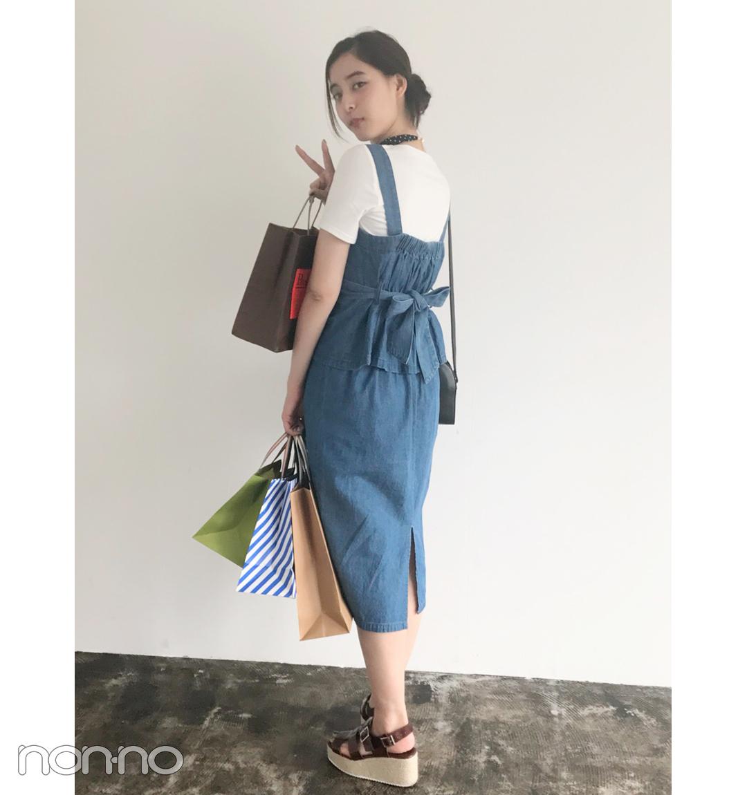 新木優子はコスパ最高のデニムセットアップでお出かけコーデ!【毎日コーデ】_1_1