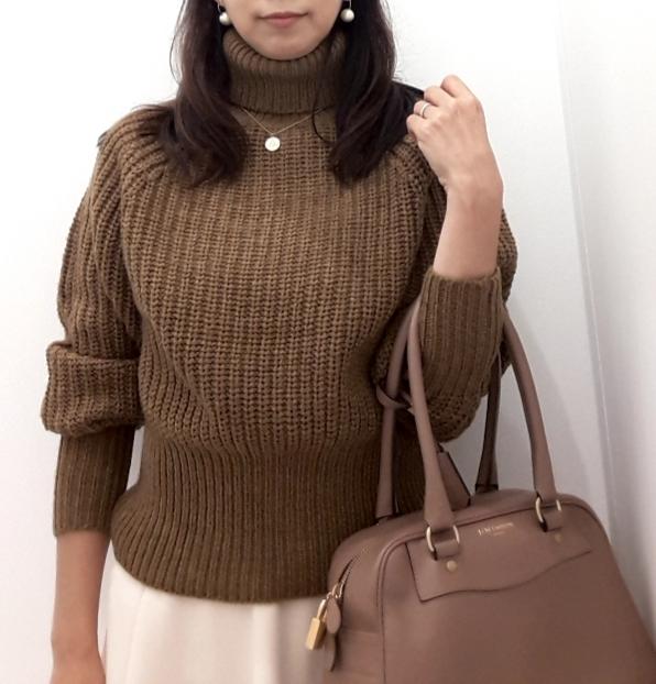 【Uniqlo U】新作!ローゲージタートルネックセーターが素敵です♪_1_1