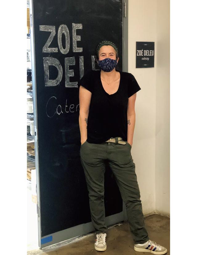 ニューヨークのゾーイ・デルーさん