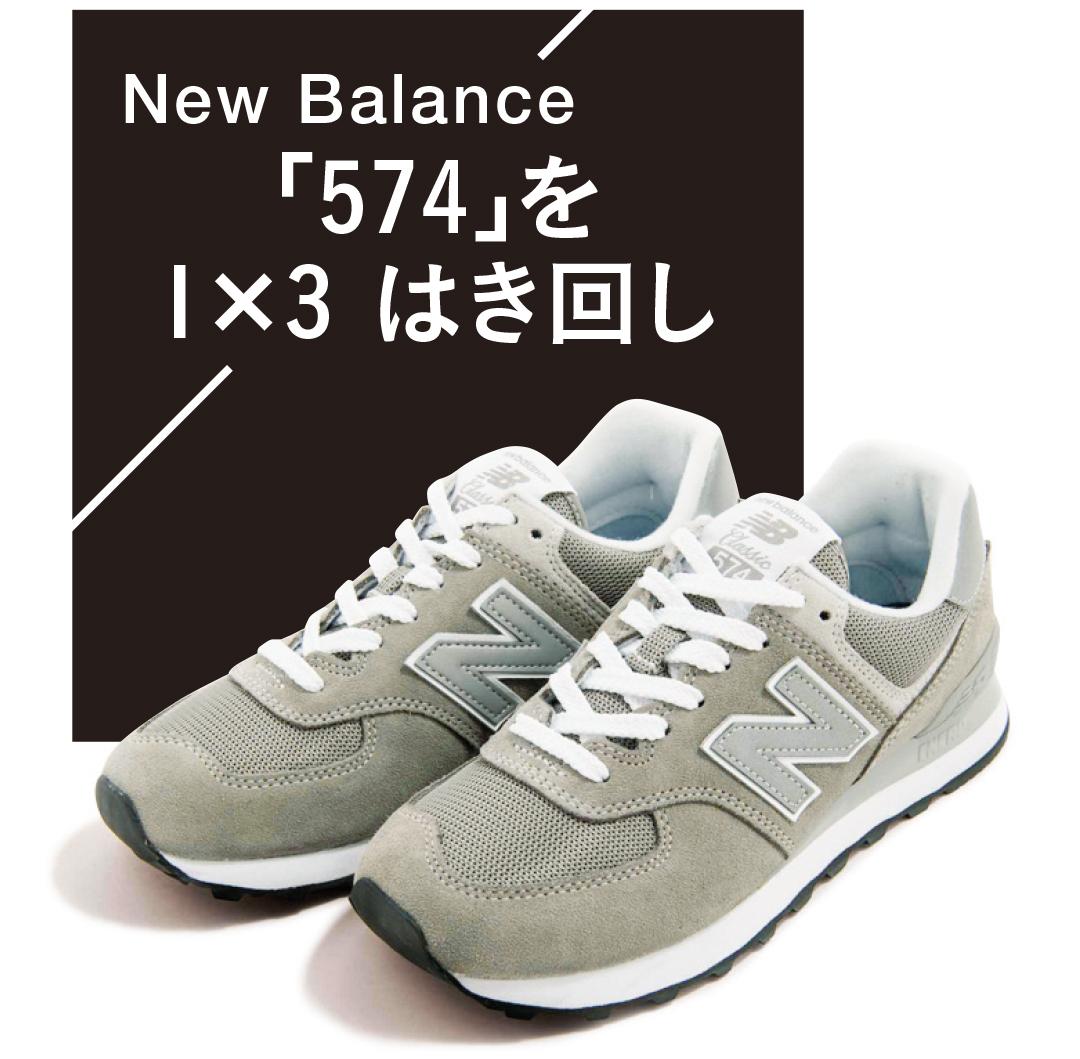 New Balance (ニューバランス)574|はき回し