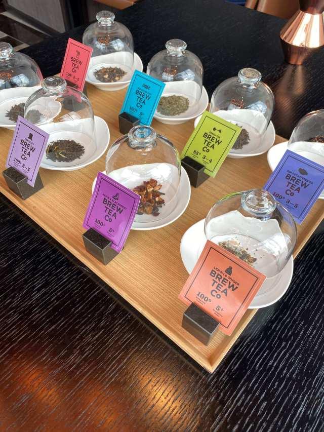 食後は沢山のフレーバーティーを選べるよ。 私は「chai」をセレクト。