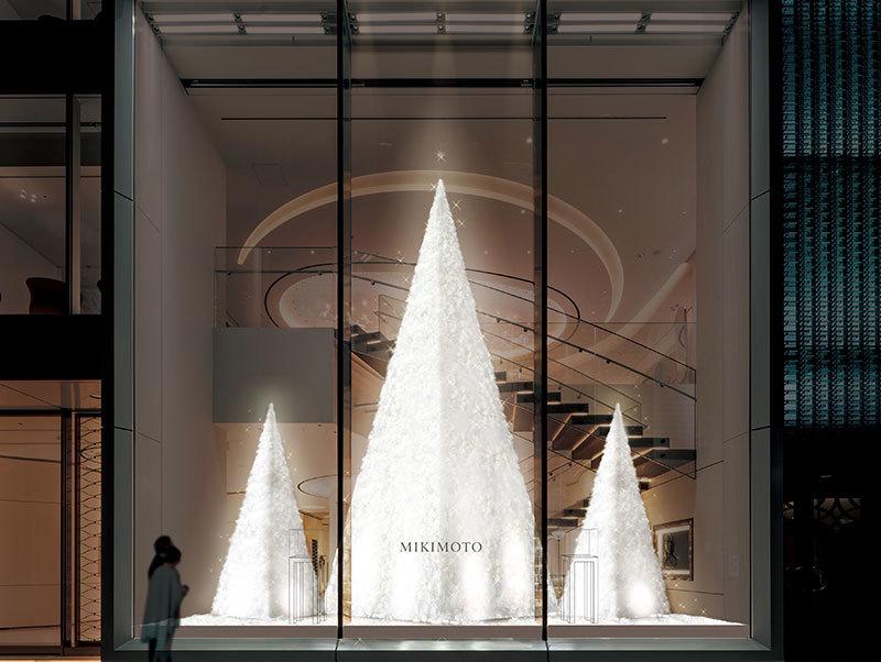 銀座の冬の風物詩が帰ってきた! ミキモト銀座4丁目本店にてクリスマスツリーがスタート_1_1
