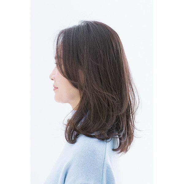 サイドから見た 人気ヘアスタイル5位の髪型