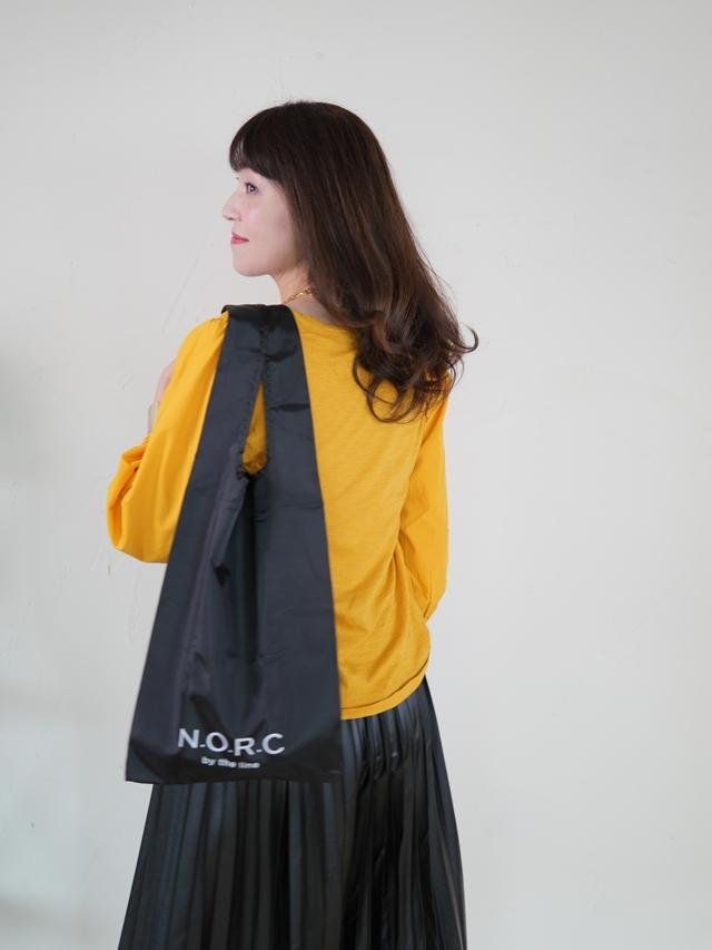 エクラ4月号特別付録N.O.R.C×エクラ黒ショッパーBAG