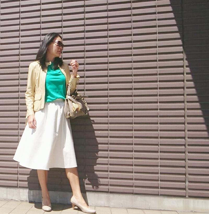 """足さばきが良くて女っぷりも上がる""""ふんわりスカート""""で、夏を乗り切る!【マリソル美女組ブログPICK UP】_1_1-4"""