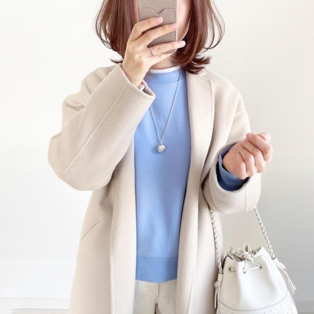 『GU』新☆神デニムとイロチ買いした春色スウェット【tomomiyuコーデ】_1_10