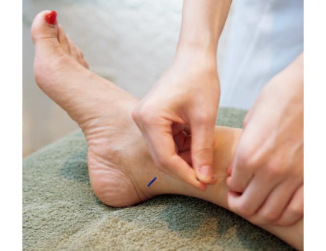 全身の血流を促し、女性特有の冷えを改善する