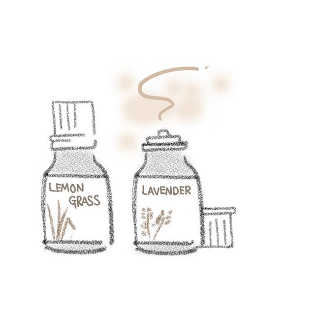 「香り」や「体温 コントロール」