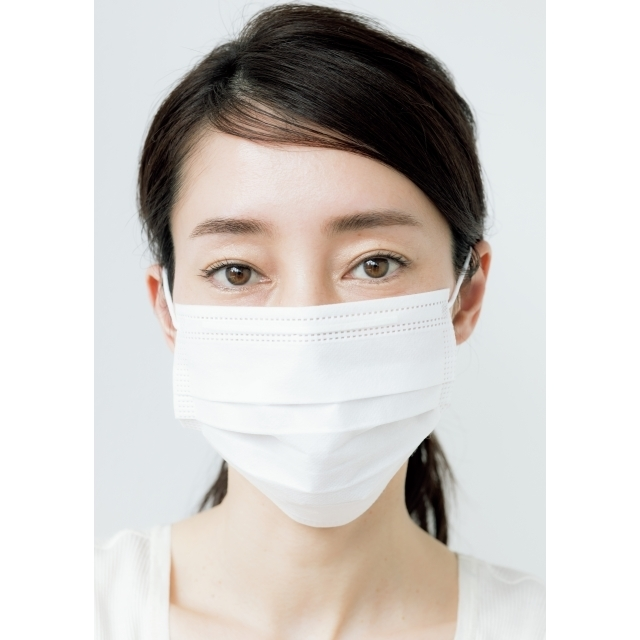 マスクをつけても優しい印象になる
