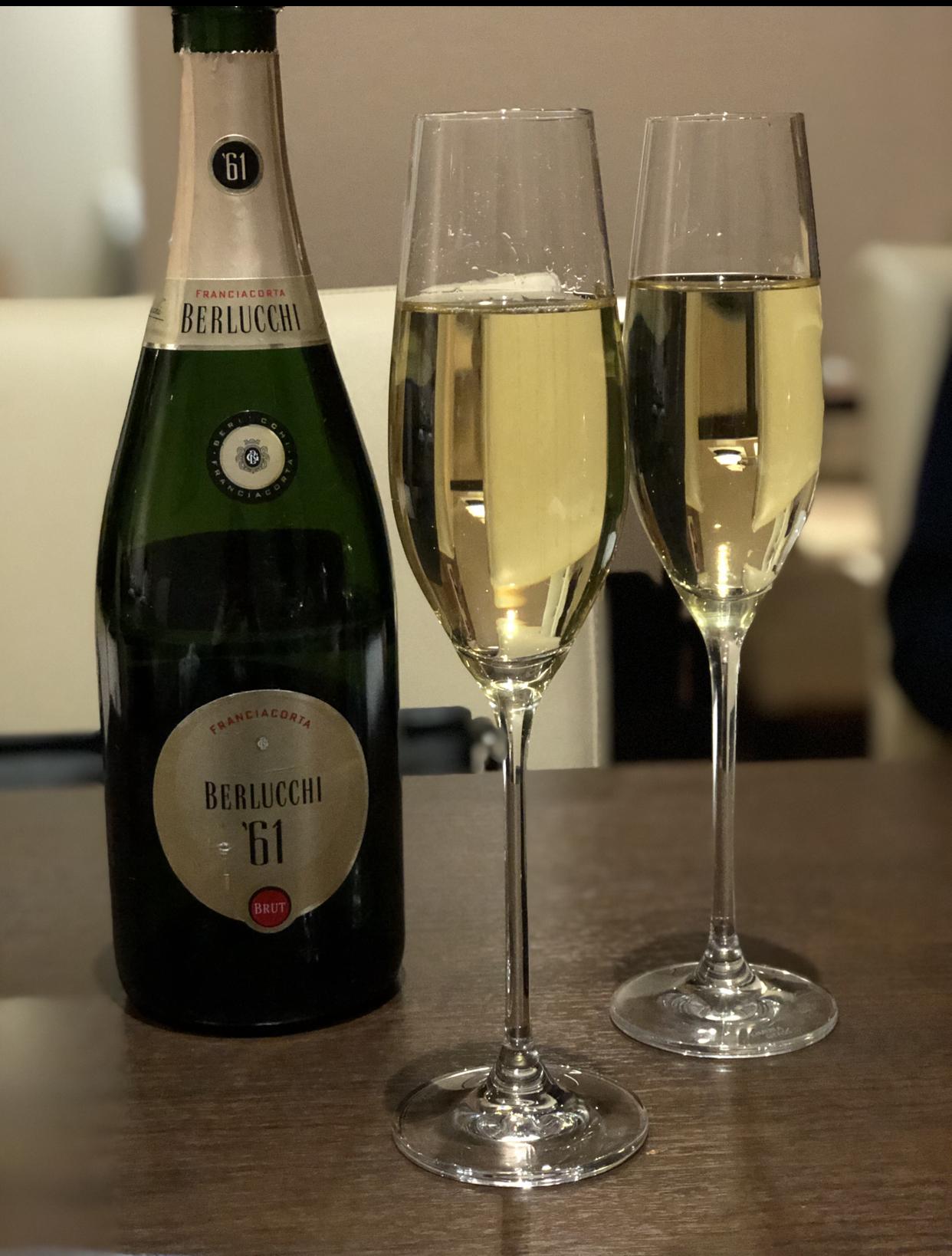 イタリアの最高峰発泡ワイン『フランチャコルタ』で乾杯☆_1_2
