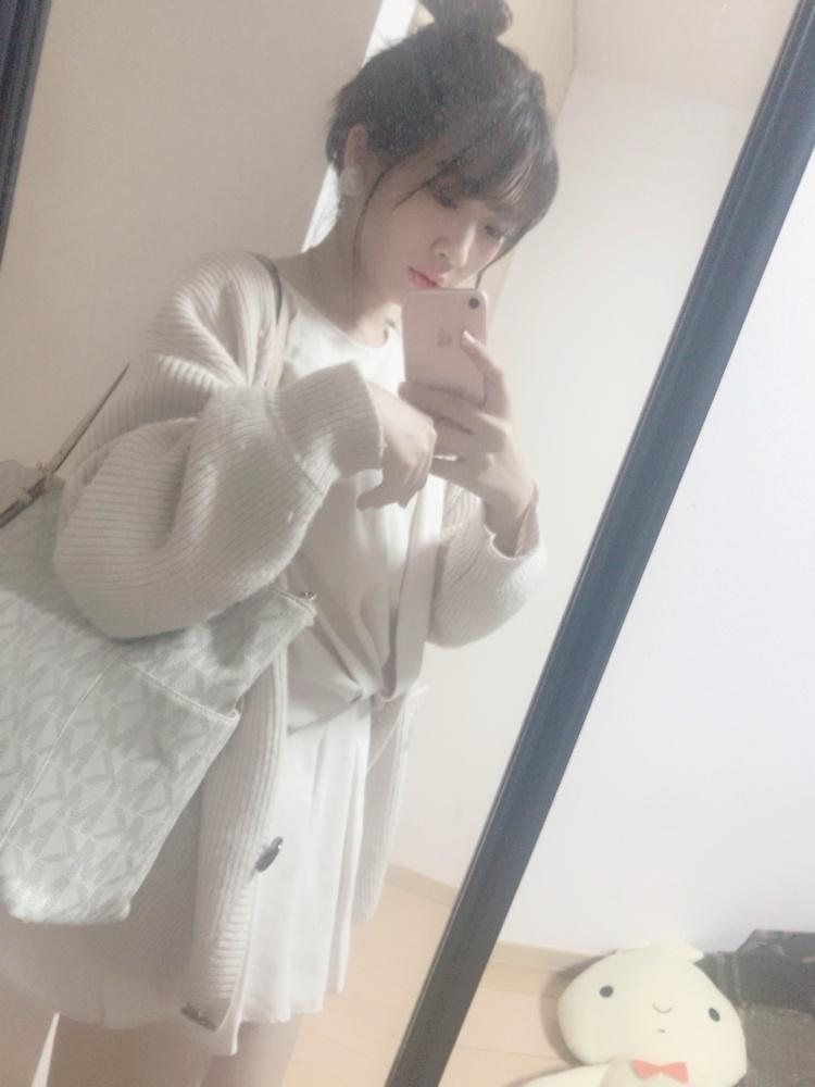 この秋買ったヘビロテ服♡スナのニットカーディガン♡_1_1
