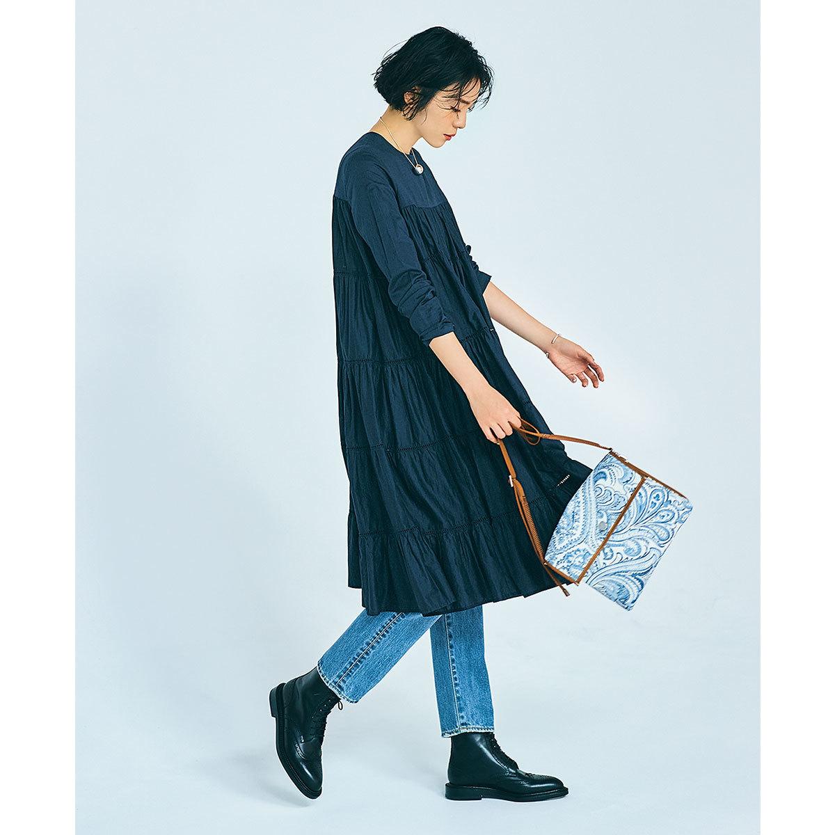 デニムスタイルの鮮度を上げる「足元」7