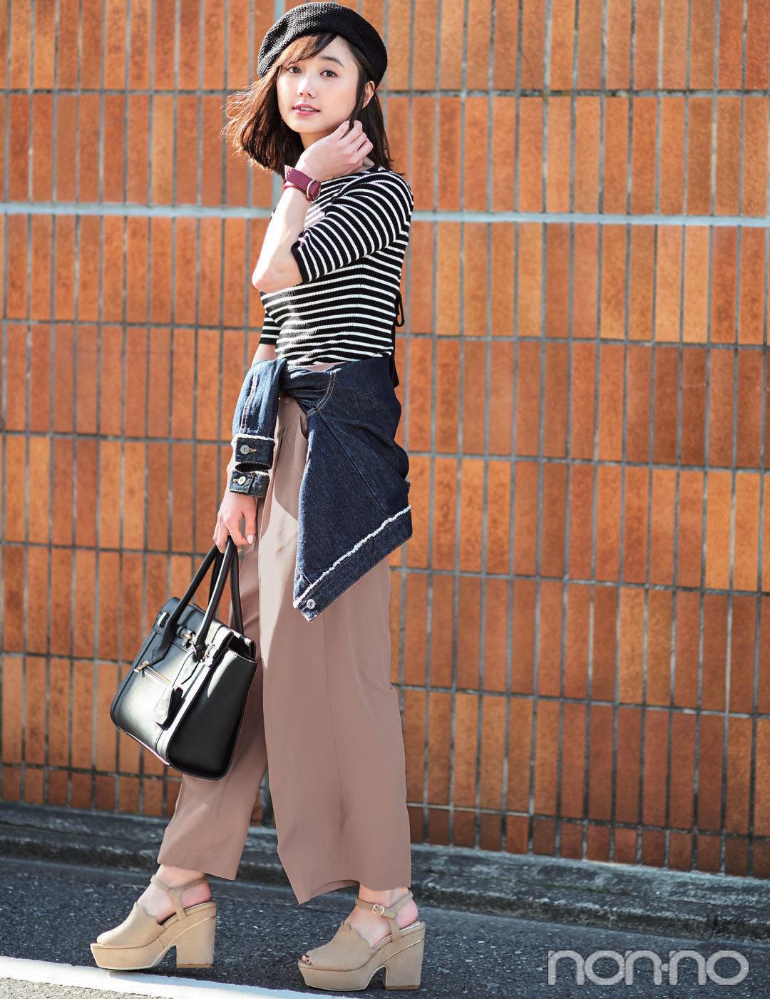 ノンノモデル鈴木友菜・春の大人っぽ着こなし、ポイントはこの3つ!_1_3