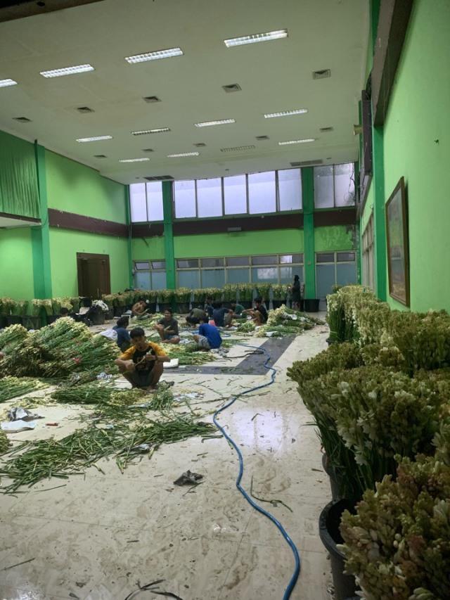 ジャカルタの花市場、Rawa Belong Flower Marketへ♪_1_3