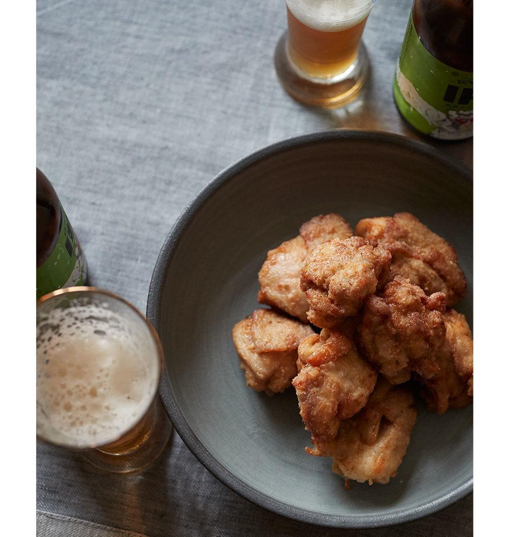 クラフトビールに合う簡単おつまみ柚子胡椒唐揚げ