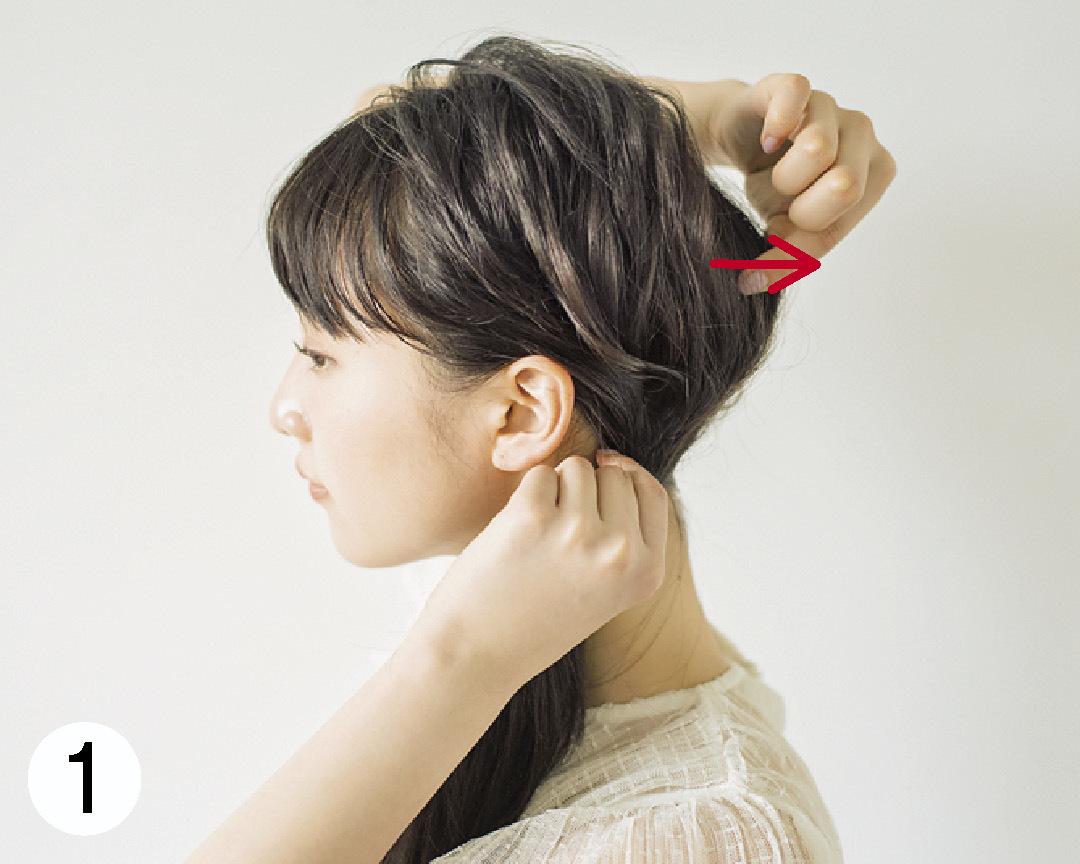 ノンノモデル山田愛奈が美しすぎる! ロングの#彼女感なサイドまとめ髪_1_3-1