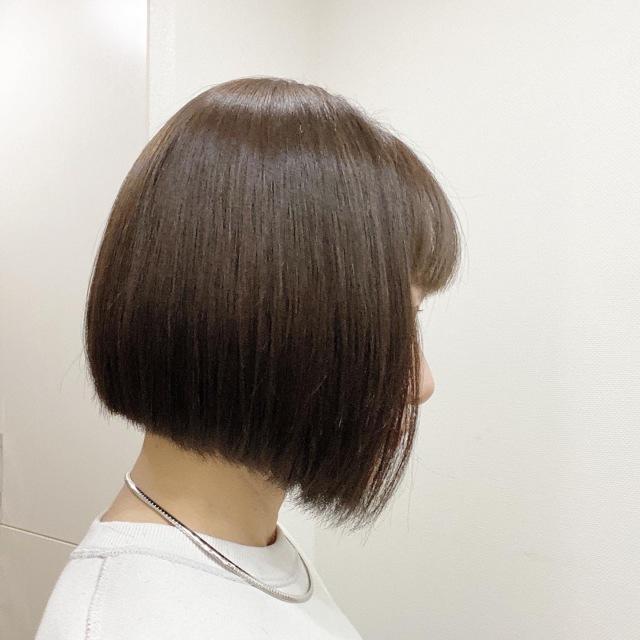 思い切って前髪カット&タッセルボブに♡_1_1