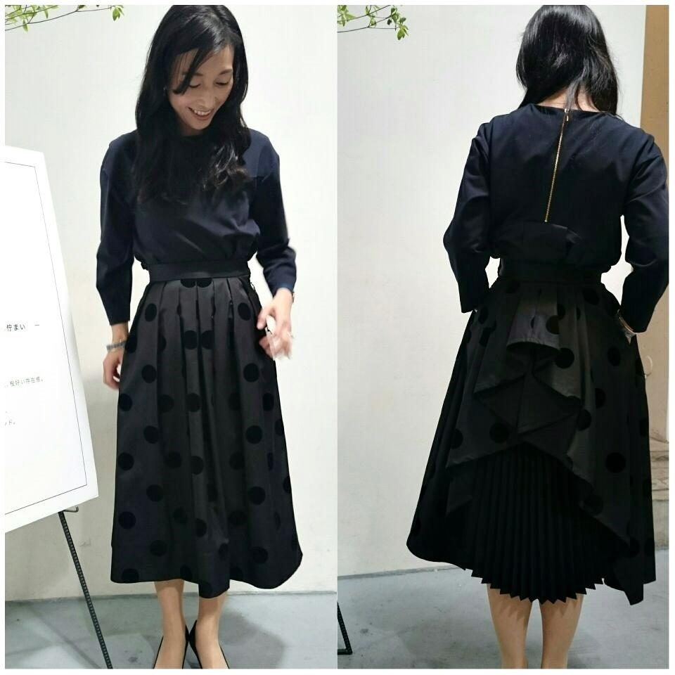 着ていると必ず褒められるスカート『SHE Tokyo』の2017AW新作展示会へ!_1_4