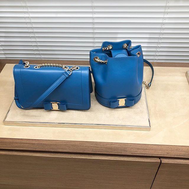サルヴァトーレ フェラガモ 2019プレスプリング展示会のバッグ