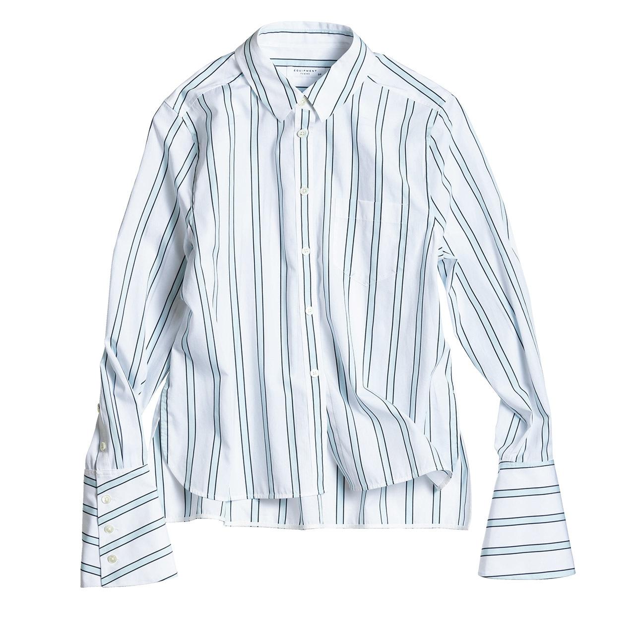 きりっと主張するストライプが、シャツを洗練スタイルに格上げ 五選_1_1-3