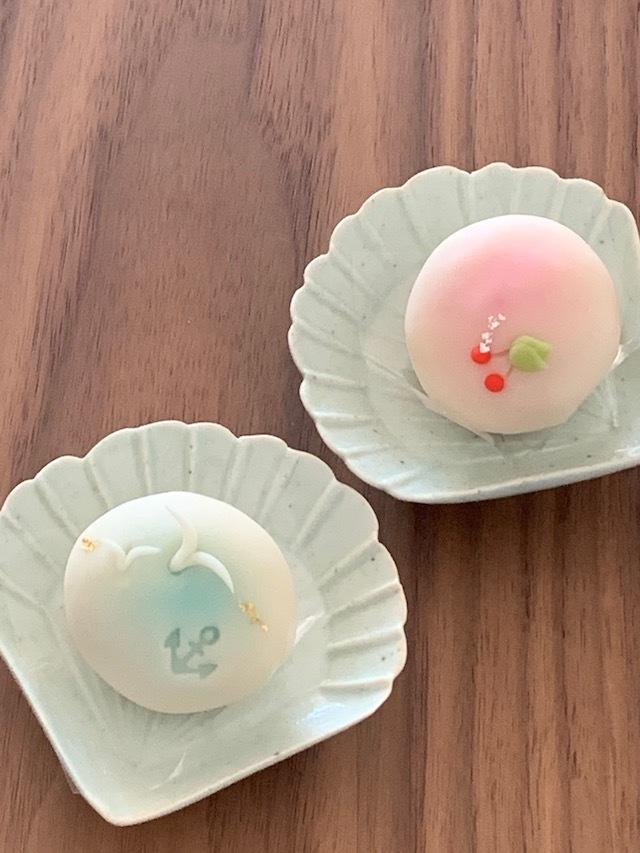 鎌倉手毬 和菓子