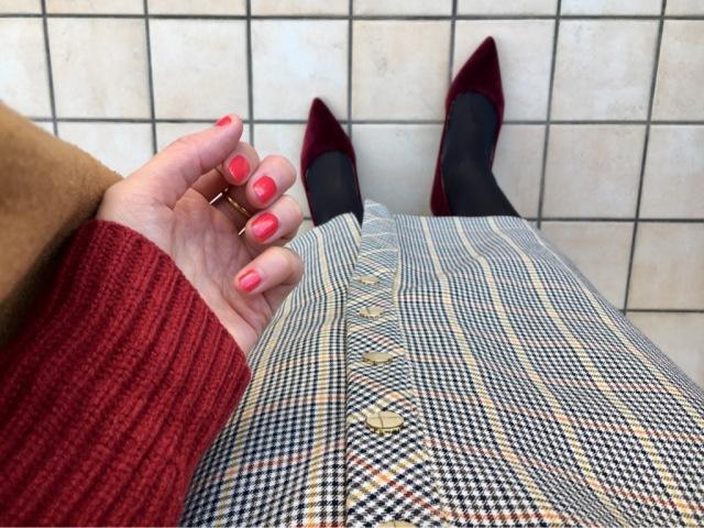 冬に着映えする「赤」で気分から明るく!_1_2
