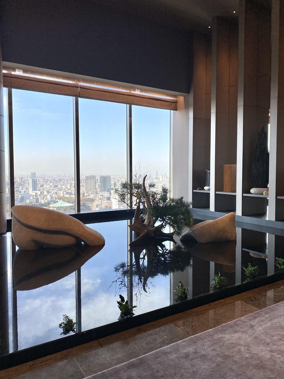 フォーシーズンズホテル大手町39階「THE LOUNGE」からの眺め