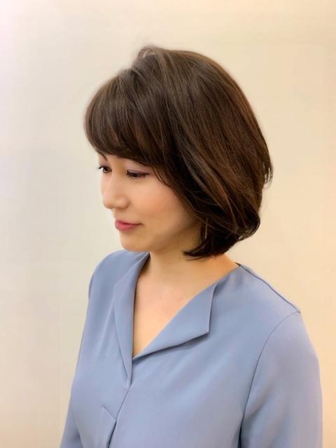 福岡からひとっ飛び!表参道の美容室で、春の軽やかボブスタイル☆_1_2