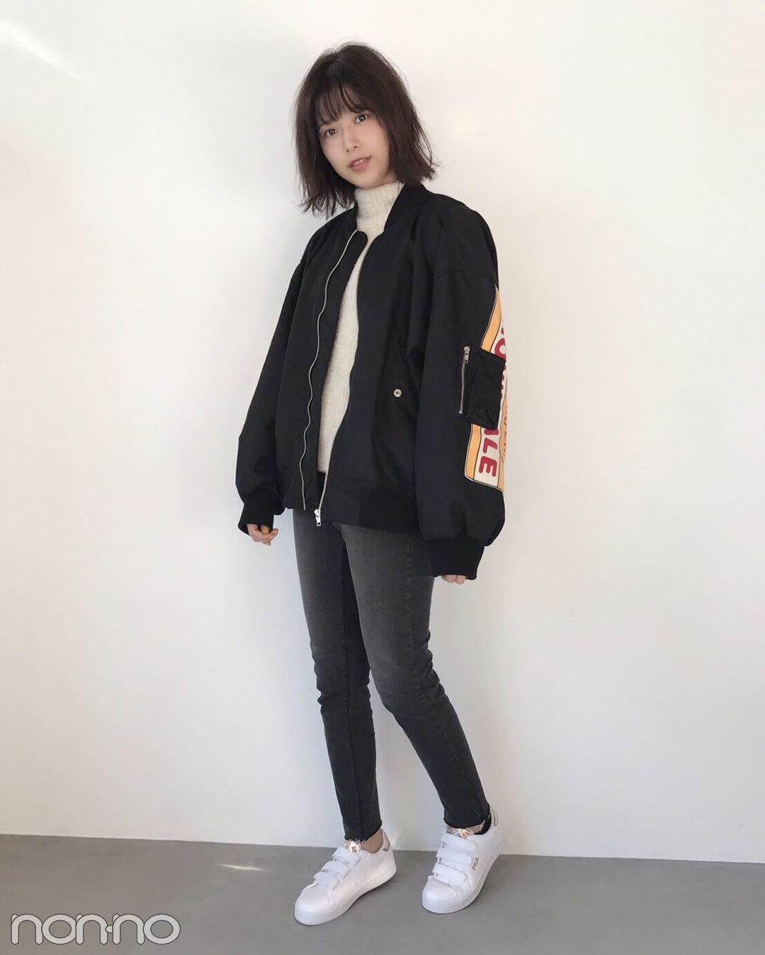 渡邉理佐|モデルの私服