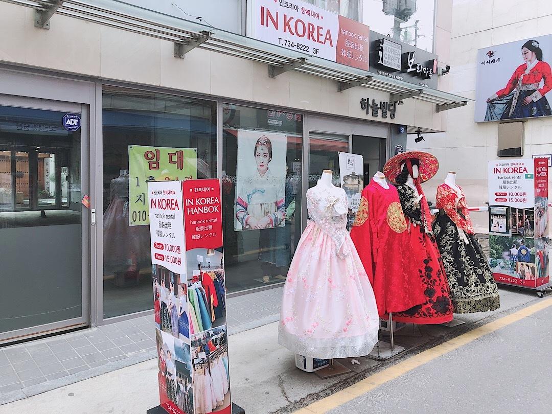 【韓国旅行】種類が豊富なチマチョゴリレンタル店!☆_1_1
